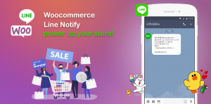 Woocommerce Line Notify 1.0.6 ออกแล้ว